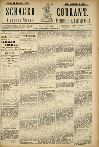 Schager Courant 1895-12-15