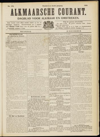 Alkmaarsche Courant 1908-11-23
