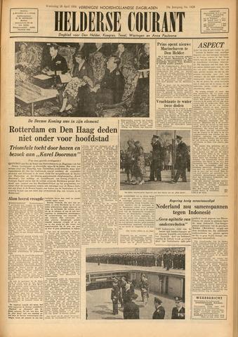 Heldersche Courant 1954-04-28