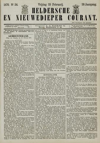 Heldersche en Nieuwedieper Courant 1870-02-25