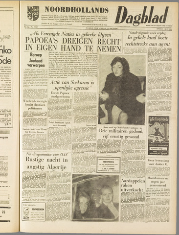 Noordhollands Dagblad : dagblad voor Alkmaar en omgeving 1962-06-05