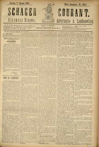 Schager Courant 1895-03-17