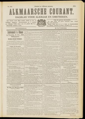 Alkmaarsche Courant 1913-11-13