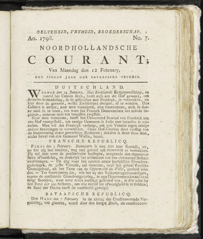 Noordhollandsche Courant 1798-02-12