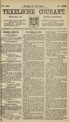 Texelsche Courant 1896-11-15