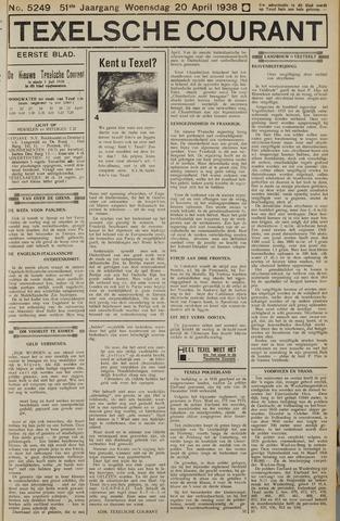 Texelsche Courant 1938-04-20
