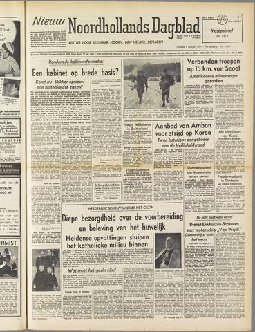 Nieuw Noordhollandsch Dagblad : voor Alkmaar en omgeving 1951-02-05
