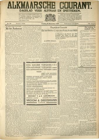 Alkmaarsche Courant 1933-11-10