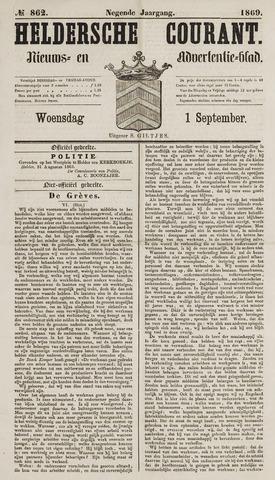 Heldersche Courant 1869-09-01