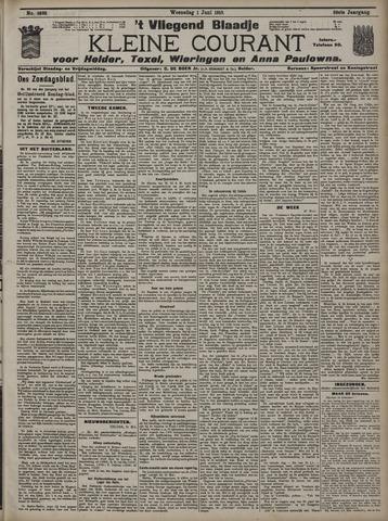 Vliegend blaadje : nieuws- en advertentiebode voor Den Helder 1910-06-01
