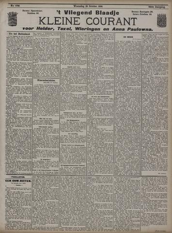 Vliegend blaadje : nieuws- en advertentiebode voor Den Helder 1908-10-28