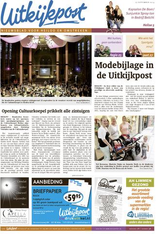 Uitkijkpost : nieuwsblad voor Heiloo e.o. 2014-09-17