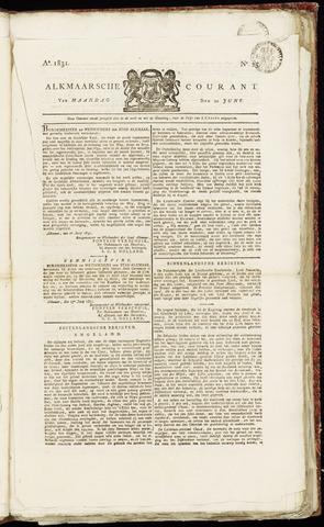 Alkmaarsche Courant 1831-06-20