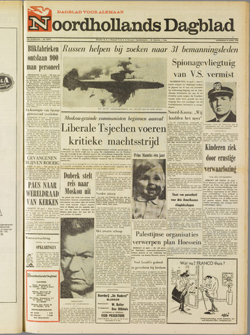 Noordhollands Dagblad : dagblad voor Alkmaar en omgeving 1969-04-16