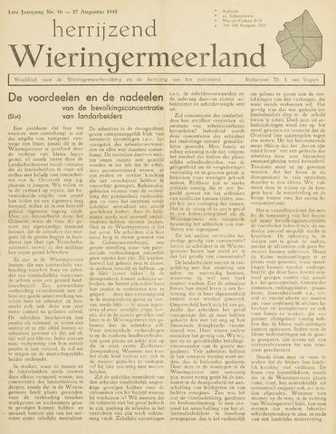 Herrijzend Wieringermeerland 1945-08-17