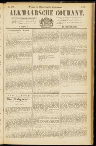 Alkmaarsche Courant 1897-09-10