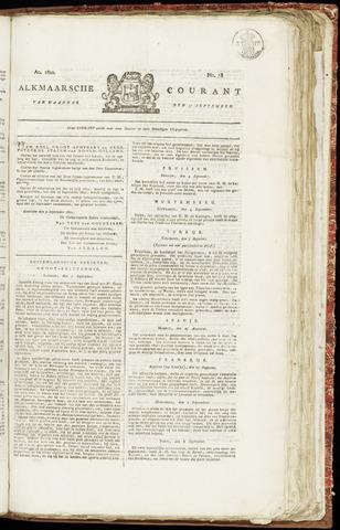 Alkmaarsche Courant 1821-09-17