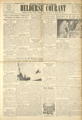 Heldersche Courant 1949-07-09