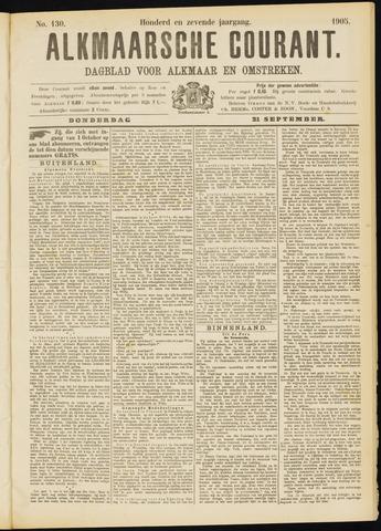 Alkmaarsche Courant 1905-09-21