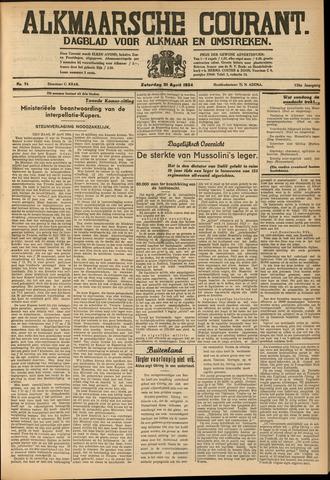 Alkmaarsche Courant 1934-04-21