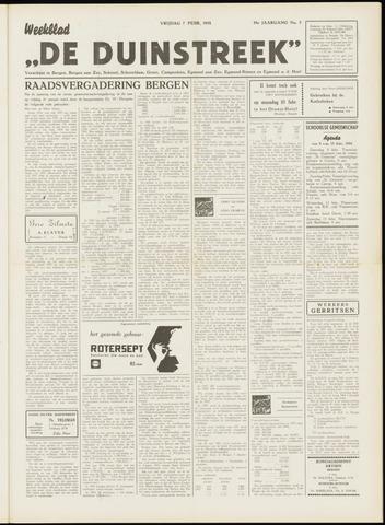 De Duinstreek 1958-02-07