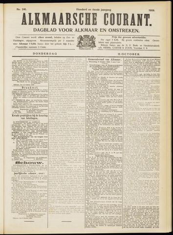 Alkmaarsche Courant 1908-10-15