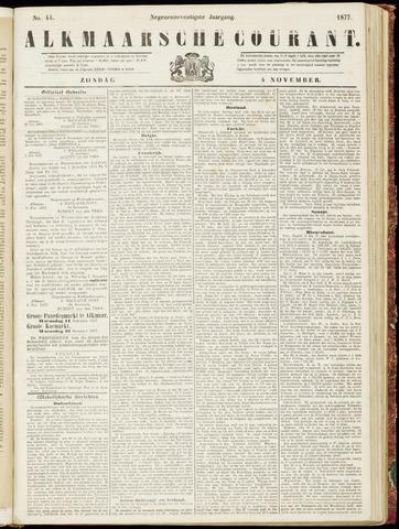 Alkmaarsche Courant 1877-11-04