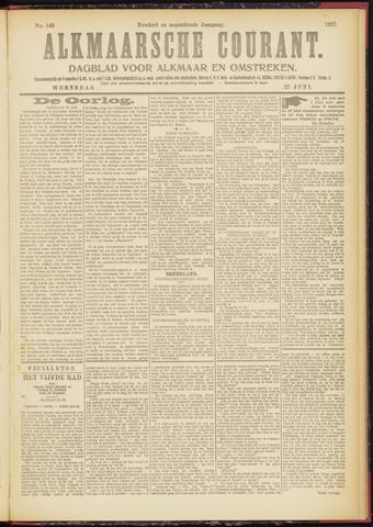 Alkmaarsche Courant 1917-06-27