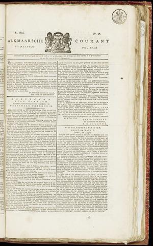 Alkmaarsche Courant 1825-07-04