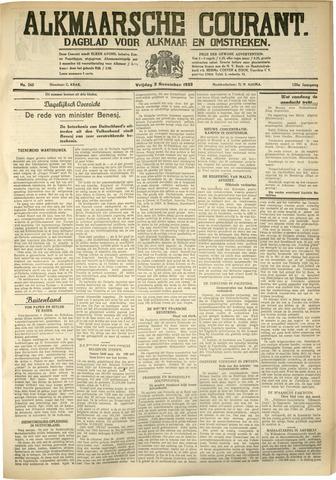 Alkmaarsche Courant 1933-11-03