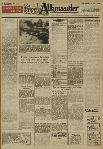 De Vrije Alkmaarder 1948-07-01