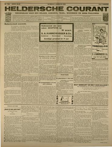 Heldersche Courant 1933-08-05