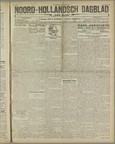 Ons Blad : katholiek nieuwsblad voor N-H 1921-11-12