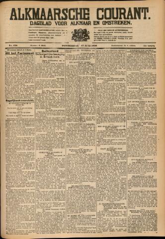 Alkmaarsche Courant 1930-06-12