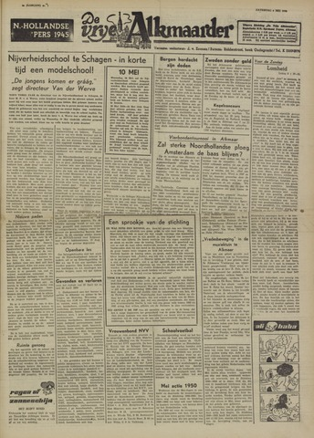 De Vrije Alkmaarder 1950-05-06