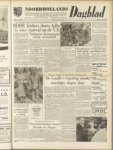 Noordhollands Dagblad : dagblad voor Alkmaar en omgeving 1958-07-11