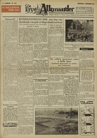 De Vrije Alkmaarder 1948-09-01