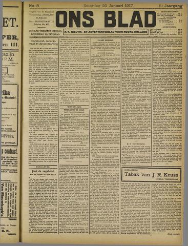 Ons Blad : katholiek nieuwsblad voor N-H 1917-01-20