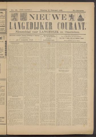 Nieuwe Langedijker Courant 1922-02-21