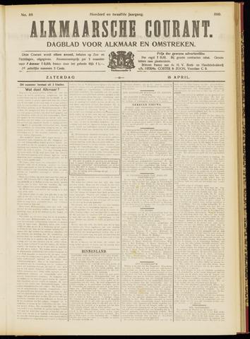 Alkmaarsche Courant 1910-04-16