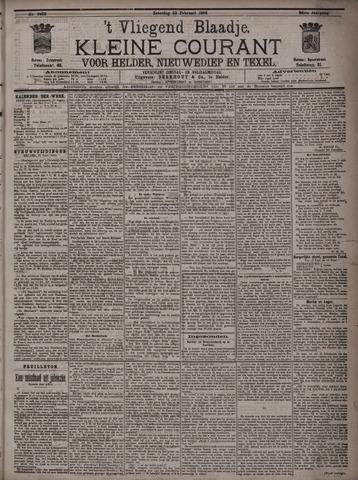 Vliegend blaadje : nieuws- en advertentiebode voor Den Helder 1896-02-22