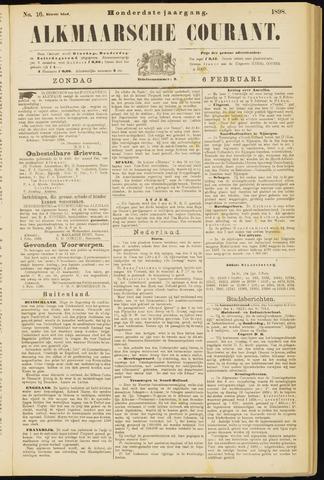 Alkmaarsche Courant 1898-02-06