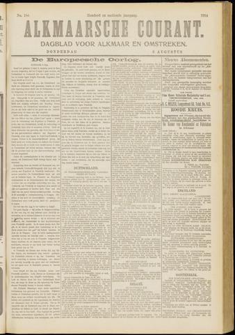 Alkmaarsche Courant 1914-08-06