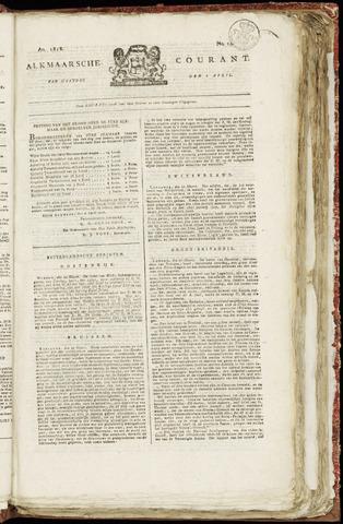 Alkmaarsche Courant 1818-04-06