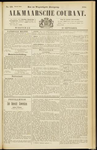 Alkmaarsche Courant 1894-09-12