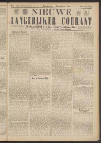 Nieuwe Langedijker Courant 1926-11-11