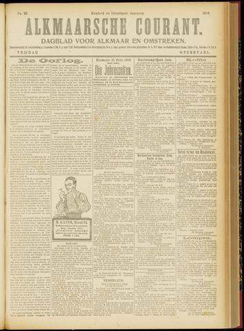Alkmaarsche Courant 1918-02-08