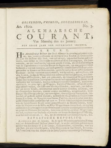 Alkmaarsche Courant 1800-01-20