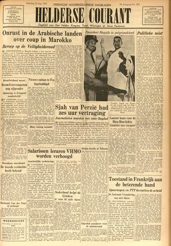 Heldersche Courant 1953-08-22