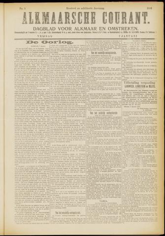 Alkmaarsche Courant 1916-01-07
